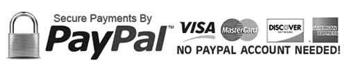 Pago con PayPal, Visa y Mastercard